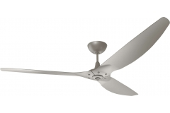 "Haiku Luxe Series Ceiling Fan: 84"", Satin Nickel Full Appearance, Universal Mount"