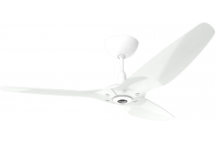"Haiku Indoor Ceiling Fan: 60"", Aluminum White, Universal Mount: White"