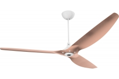 "Haiku Luxe Series Ceiling Fan: 84"", Brushed Copper, Universal Mount: White"