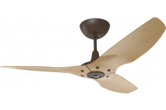 "Haiku Indoor Ceiling Fan: 52"", Caramel Bamboo, Universal Mount: Oil-Rubbed Bronze"