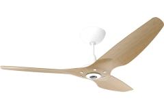 Haiku Ceiling Fan 1.5m, Caramel Bamboo, Universal Mount: White