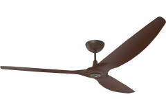 "Haiku Ceiling Fan: 84"", Cocoa Bamboo, Universal Mount: Oil-Rubbed Bronze"