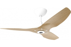 "Haiku Indoor Ceiling Fan: 52"", Caramel Bamboo, Universal Mount: White"