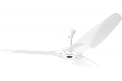 Haiku Outdoor Ceiling Fan 1.5m, White Aluminium, Low Profile Mount: White