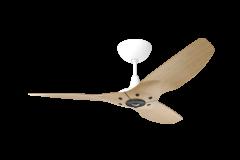 Haiku Ceiling Fan 1.3m, Caramel Bamboo, Universal Mount: White