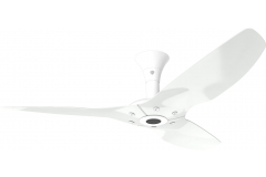 "Haiku Outdoor Ceiling Fan: 52"", White Aluminum, Low Profile Mount: White"