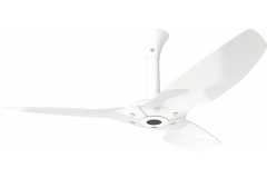 "Haiku Outdoor Ceiling Fan: 52"", White Aluminum, Standard Mount: White"