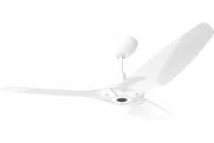 "Haiku Outdoor Ceiling Fan: 60"", White Aluminum, Universal Mount: White"