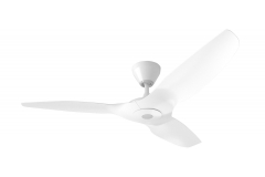 "Haiku C Ceiling Fan: 52"", White, Universal Mount: White"