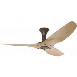 Haiku Indoor Ceiling Fan 52 Quot Caramel Bamboo Low Profile Mount Oil Rubbed Bronze