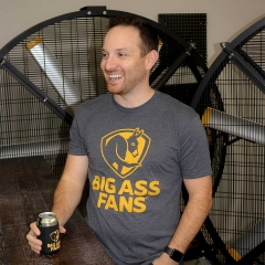 Big Ass Fans 20th Anniversary T-Shirt