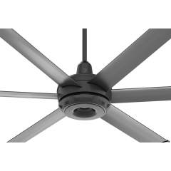 es6 Ceiling Fan: Black
