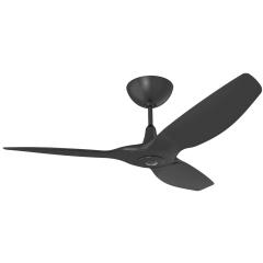 Haiku I Ceiling Fan: 1.3m, Black, Universal Mount: Black