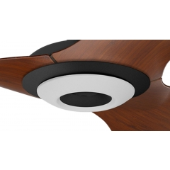 Haiku Fan Indoor Light Kit: Black
