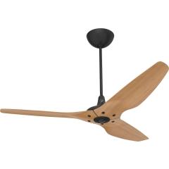 Haiku Indoor Ceiling Fan: 152 cm, Caramel Bamboo, Universal Mount: Black
