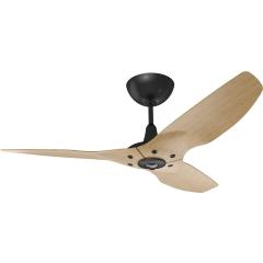"""Haiku Indoor Ceiling Fan: 52"""", Caramel Bamboo, Universal Mount: Black"""