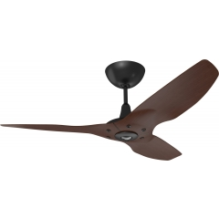 Haiku Ceiling Fan 1.3m, Cocoa Bamboo, Universal Mount: Black
