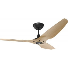 Haiku Ceiling Fan 1.5m, Caramel Bamboo, Universal Mount: Black