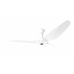 Haiku I Ceiling Fan: 1.5m, White, Low Profile Mount: White
