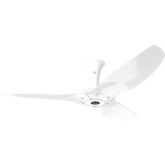 "Haiku Outdoor Ceiling Fan: 52"", White Aluminum, Low Profile Mount: White"