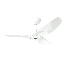 "Haiku Outdoor Ceiling Fan: 52"", White Aluminum, Universal Mount: White"