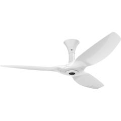 Haiku I Ceiling Fan: 132 cm, White, Low Profile Mount: White