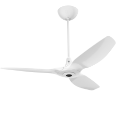 Haiku I Ceiling Fan: 132 cm, White, Universal Mount: White