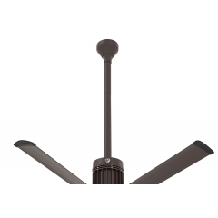 "i6 Oil-rubbed Bronze 36"" Downrod (flat/sloped ceiling 14.5 - 15.5 ft.)"