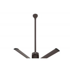 "i6 Oil-rubbed Bronze 48"" Downrod (flat/sloped ceiling 16 - 18 ft.)"