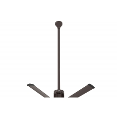 "i6 Oil-Rubbed Bronze 60"" Downrod (flat/sloped ceiling 18.5 - 20 ft.)"