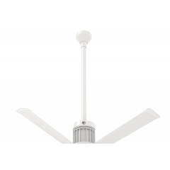 "i6 White 36"" Downrod (flat/sloped ceiling 14.5 - 15.5 ft.)"