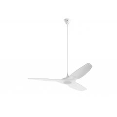 """White Haiku L/C 52"""" Extension Kit (For ceilings between 13' and 14')"""
