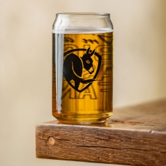 Big Ass Fans Logo Soda Can Glass